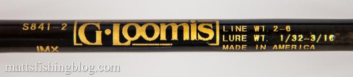 G.Loomis IMX S841-2 - 09
