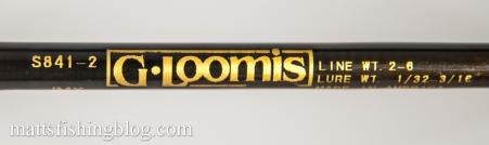 G.Loomis IMX S841-2 - 10